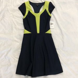 NEW! City Triangle navy and green dress size 3